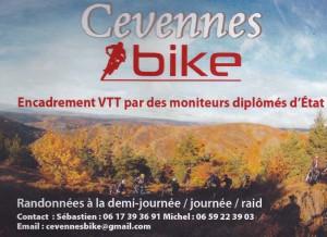 VTT en Cévennes